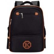 Techtest Waterproof Student Bags Backpacks for Man Kids Laptop Mini Travel Backpack Girls Boys Women Teen Black Rainproof College School Bag Men 25 L Backpack(Black)