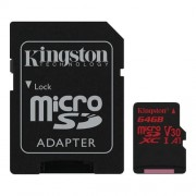 Kingston microSD 64GB Canvas React