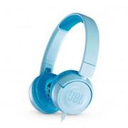JBL JR300 Kids Оn-Ear Headphones - слушалки подходящи за деца за мобилни устройства (светлосин)
