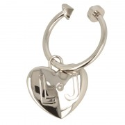 Kulcstartó LIU JO - Loto Key Ring A17157 A0001 Nikel 00275