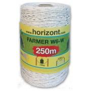 FARMER W6-W,fi.2,5 mm biała, 250m