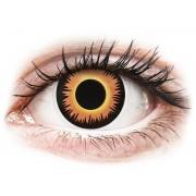 Vision ColourVUE Crazy Lens - Orange Werewolf - sin graduación (2 lentillas)