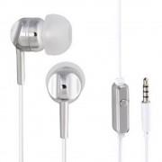 Thomson EAR3005S in ear slušalice u ušima slušalice s mikrofonom srebrna, bijela