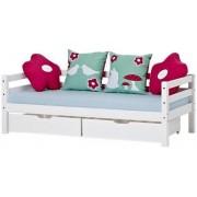 Hoppekids Bäddsoffa med sänglådor 70x160 cm - Hoppekids Forest Säng 102513