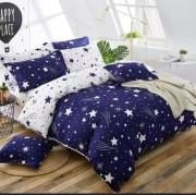 7 részes Csillagos Ágynemű Garnitúra-Kék