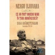 Ce au fost boierii mari in Tara Romaneasca cartonat - Neagu Djuvara