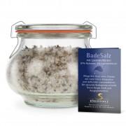 Königssalz Badesalz mit Lavendelblüten Schmuckglas 180 g, 204108