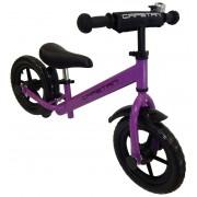 """Capetan® Energy Plus Lila színű 12"""" kerekű futóbicikli sárhányóval és csengővel - pedál nélküli gyer"""