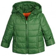 Garnamama dječja jakna s ruksakom, zelena, 104-110