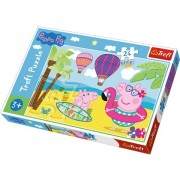 Puzzle Maxi Purcelusa Peppa 24 piese