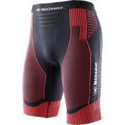 X-Bionic Effektor Power Hardloop Shorts Heren rood/zwart L 2018 Compressiebroeken