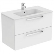 Mobilier suspendat Ideal Standard Tempo, 2 sertare,alb lucios; -E3242WG
