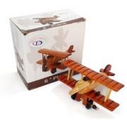 Wooden Airplane Plane / Aircraft Showpiece / Wooden Aeroplane Antique Showpiece Toy 6x3.5 Home dcor Wooden showpiece