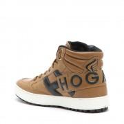 Hogan Sneakers alte da uomo cognac