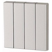 Capac Buton cvadruplu - Argintiu lucios CWIZ-04/33 EATON