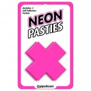 Neon Luv Touch Copricapezzoli Neon Pasties Pink