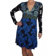 Desigual hosszú ujjú női ruha Vest Gemma