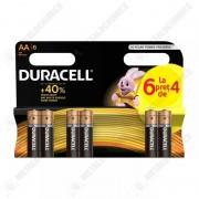 Duracell Duralock Baterii alcaline AA 2500 mah, LR6, 6 buc