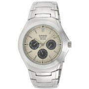 Casio Enticer Beige Dial Mens Watch - Mtp-1247D-9Avdf (A221)