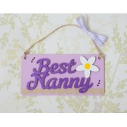 Best Nanny - purple