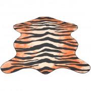 vidaXL Килим 70 x 110 см, тигрови форма и шарка