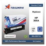 751000nsh1285 Remanufactured Ce411a (305a) Toner, Cyan