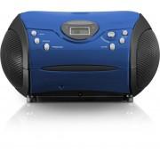 Lenco SCD-24 - Radio/CD-speler - Blauw/Zwart