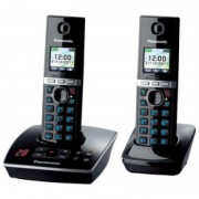 Panasonic KX-TG8062GB schwarz Duo mit AB