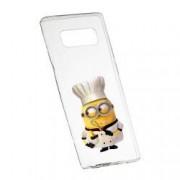 Husa de protectie Minion Chef Samsung Galaxy Note 9 rez. la uzura anti-alunecare Silicon 215