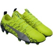 Puma evoPOWER Vigor 1 GRAPHIC FG Football Shoes For Men(Yellow)