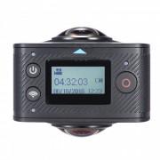 dual-Lens de 360 ??grados panoramica de video digital de accion de deportes de la camara VR