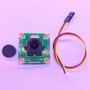 EW CMOS HD 700TVL Mini Video sobre seguridad placa PCB FPV cámara digital a color PAL