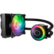 Cooler procesor LICHID Cooler Master MasterLiquid ML120R RGB, compatibil Intel/AMD