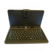 Funda Teclado USB Tablet Generica 7 Negra