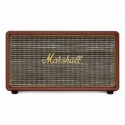 Marshall Stanmore Brown - безжичен аудиофилски спийкър за iPhone, iPod и iPad и мобилни устройства с Bluetooth (кафяв)