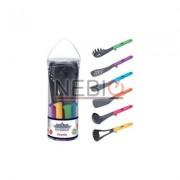 Set ustensile de bucatarie Peterhof, 6 piese, Silicon, Multicolor