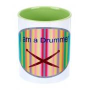 Alois Hübl Coffee Mug I am a Drummer