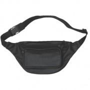 DBE Genuine Leather Fanny Bag Black DBE3440