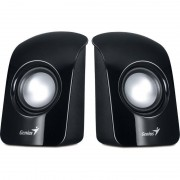 Sistem audio 2.0 Genius SP-U115 USB Black