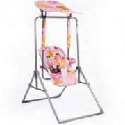 Детска градинска люлка Funny, Moni, розова, 356195