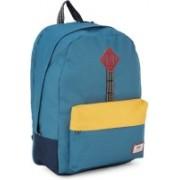 Vans OLD SKOOL PLUS Backpack(Blue, Yellow)