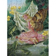 100 pc Shirley Barber's Fairies Puzzle