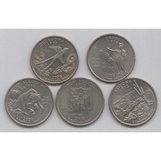 2008 State Quarters of United States of America @ Coins and Stamps