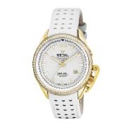 【55%OFF】ラウンド デイト パンチングベルト ウォッチ フェイス:ホワイト ベルト:ホワイト ファッション > 腕時計~~メンズ 腕時計