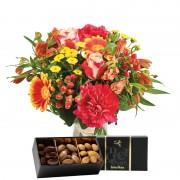 Interflora Bouquet Tutti frutti et ses amandes au chocolat