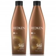 Shampooing All Soft Mega Redken Duo 300 ml