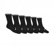 Asics Crew Sock 6 Pairs Performance Black 35-38