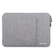 HAWEEL univerzális vízhatlan, ütéselnyelő tok max. 15 colos laptop / notebook készülékekhez - SZÜRKE