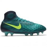 Nike Men's Magista Obra II FG Soccer Cleats - (Rio Teal/Obsidian) (13)