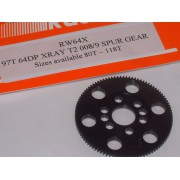 RW 64X97T 97 Tooth Xray T4 Offset Supa-lite Spur Gears 64dp